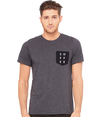 Coffee Pocket Tee - T-Shirt (Unisex)