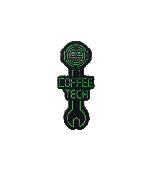 Caffiend - Coffee Tech pin
