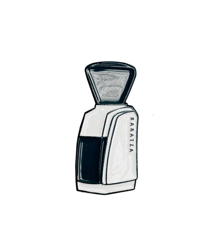 Manufacturer Pin Series - Baratza Encore White