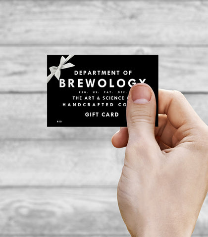 Gift Card - Department of Brewology