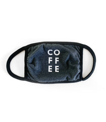 Coffee Face Mask (Oxford Grey and Black)