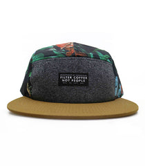 Filter Coffee Not People 5 panel hat