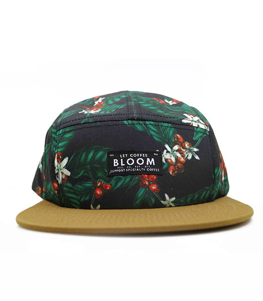 (EUROPE) Let Coffee Bloom 5 panel hat