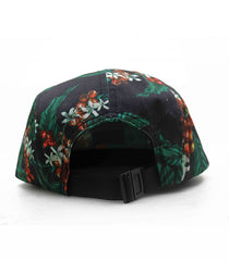 Let Coffee Bloom 5 panel hat