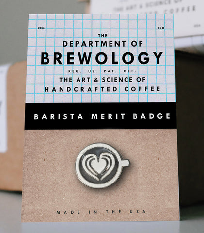 Barista Merit Badge - Heart