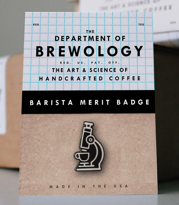 (EUROPE) Barista Merit Badge - Microscope