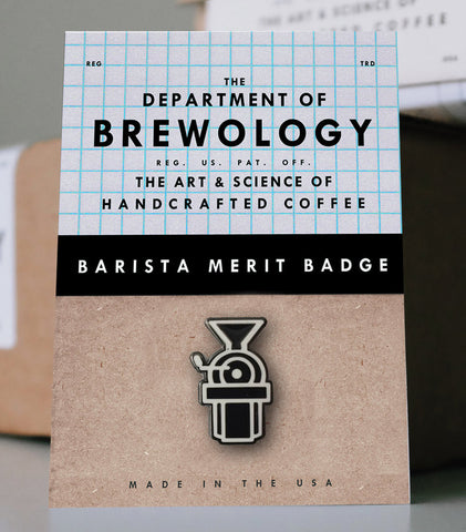 Barista Merit Badge - Roaster