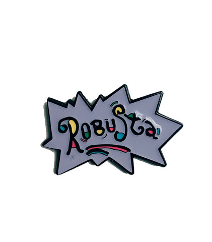 Caffiend - Robusta (Rugrats logo) Pin