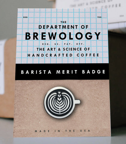 Barista Merit Badge - Rosetta