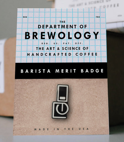 Barista Merit Badge - Siphon