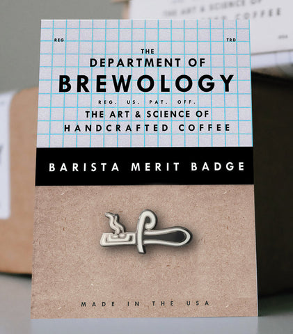 Barista Merit Badge - Trier
