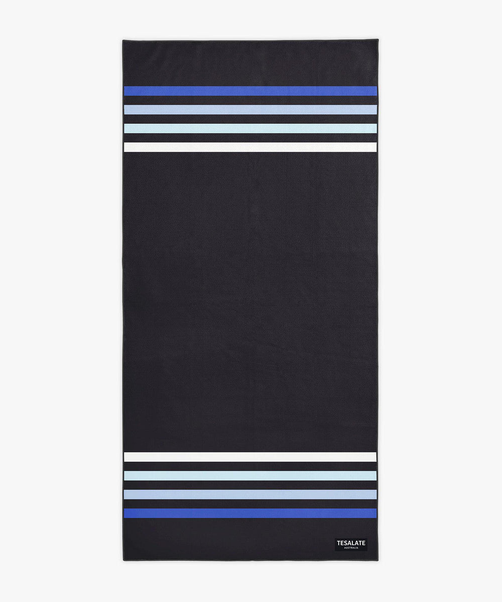 Keepin it Classic - Black-Beach-Towel