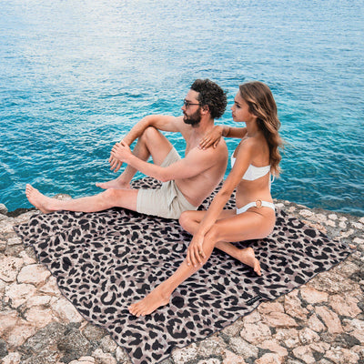 Wild Ones - Natural - Towel for Two-Beach-Towel