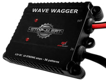 STOP-ALERT Brake Wave 36 - HEAVY DUTY 36 Light Pattern 10 AMPS Electronic Alternating Brake Flasher Tail & Stop Light Strobe - LED and Incandescent Lights for Cars, Trucks, Motorcycles 12-24V