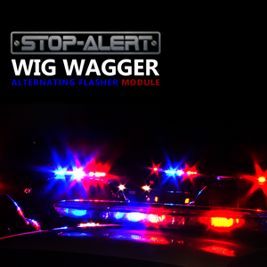 Stop-Alert FastWagger 72 Electronic Wig Wag Alternating Strobe light Flasher