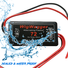 Stop-Alert WigWagger 72 LED Electronic Wig Wag Alternating Flasher Relay