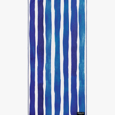 Bora Bora - Navy-Beach-Towel