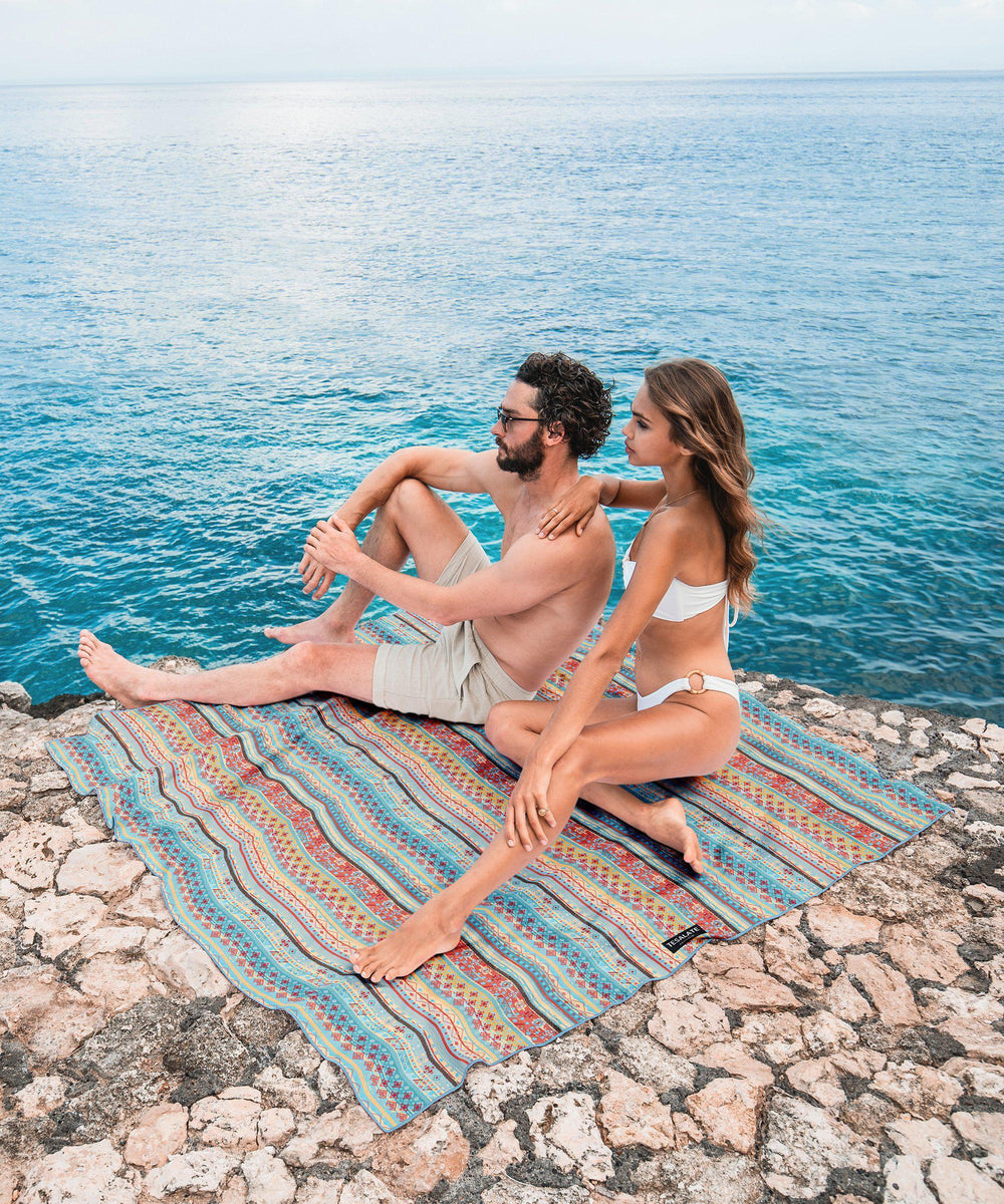 Cool & Calm - Towel for Two-Beach-Towel