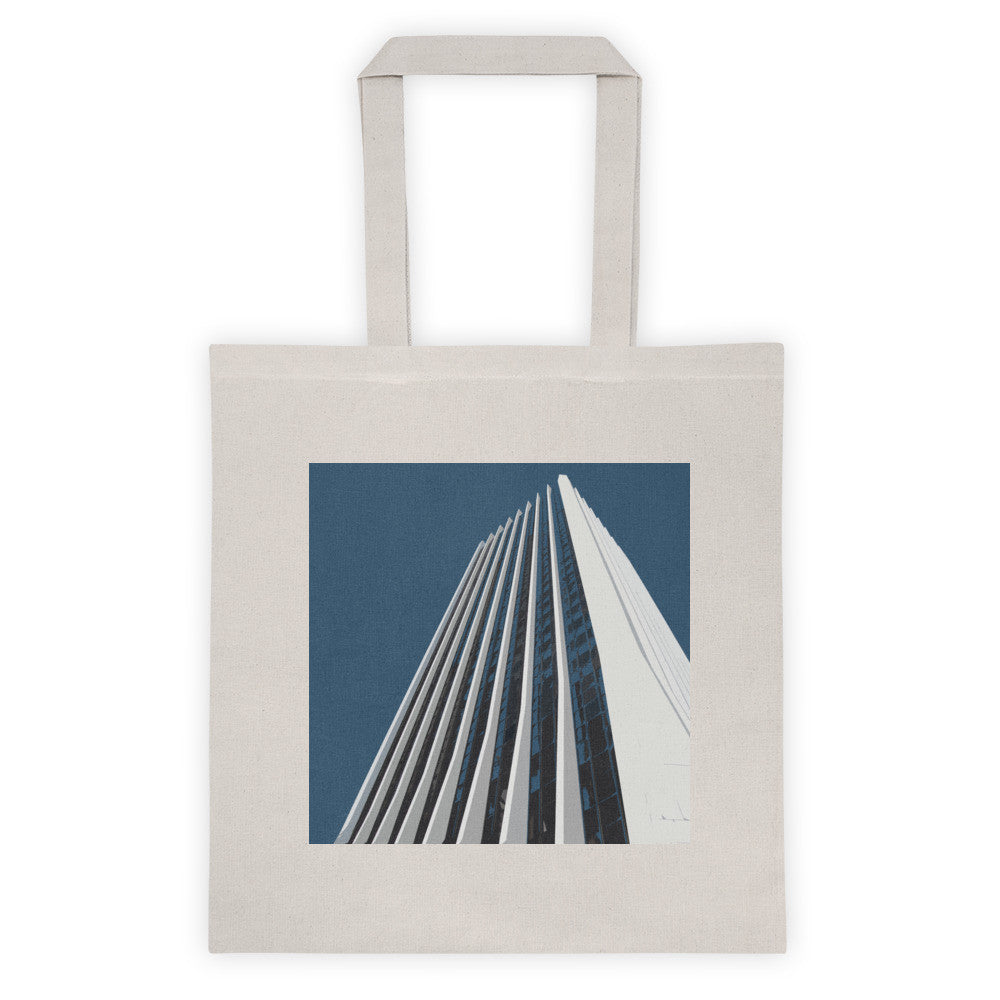 Wells Fargo Center Landmarks Tote Bag - Small