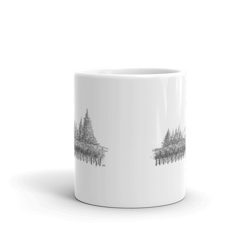 Cloudrest Vineyards Sketch Mug