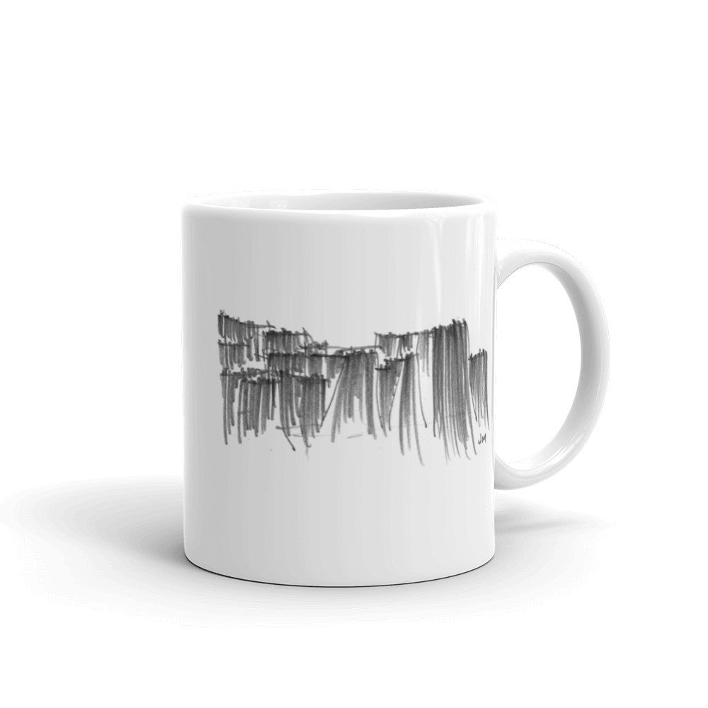 Keller Fountain Sketch Mug