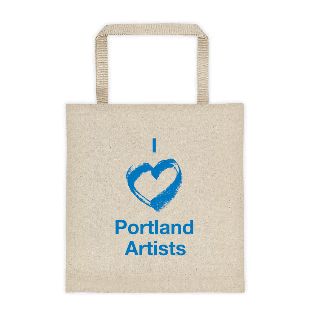 I ♡ Portland Artists Tote Bag - Large