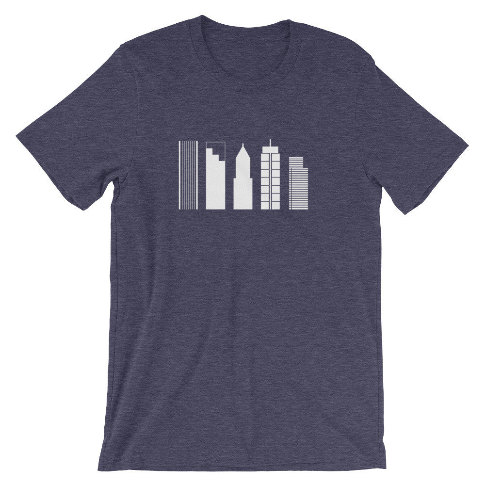 Portland's 5 Tallest Buildings Unisex T-Shirt