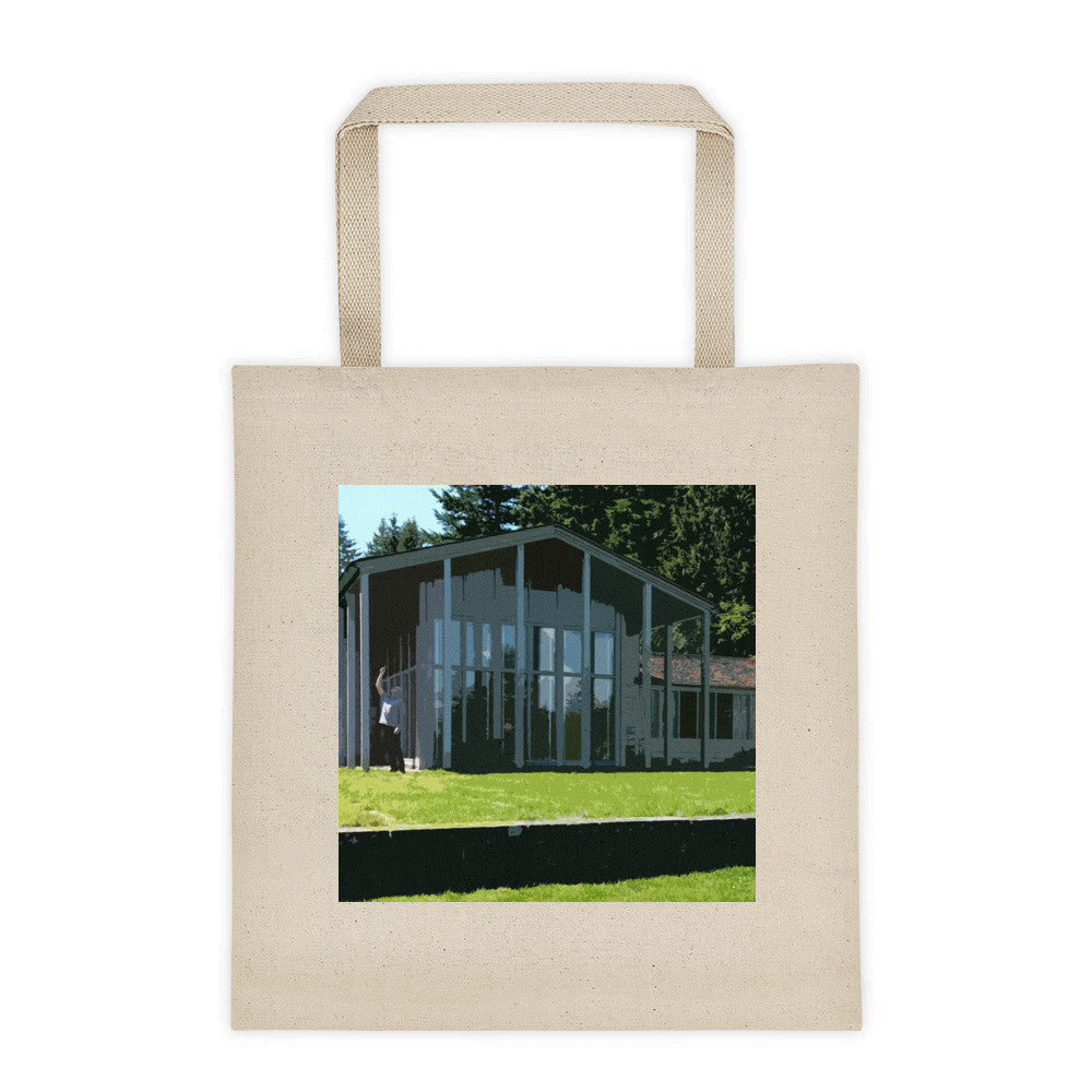 Watzek House Landmarks Tote Bag - Large