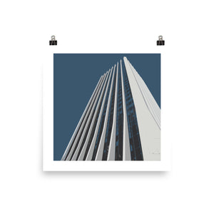 Wells Fargo Center Landmarks Print