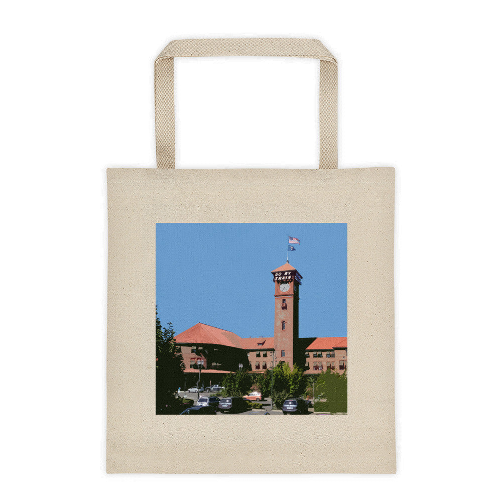 Union Station Landmarks Tote Bag - Large