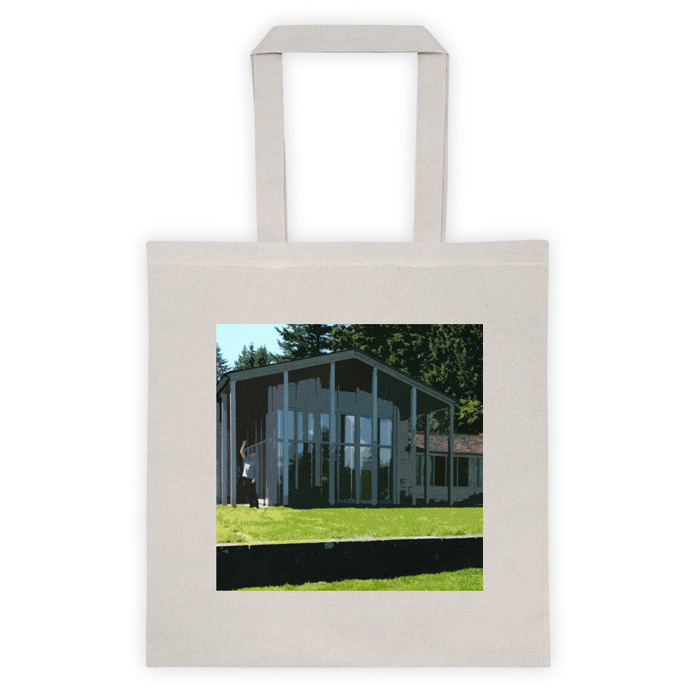 Watzek House Landmarks Tote Bag - Small