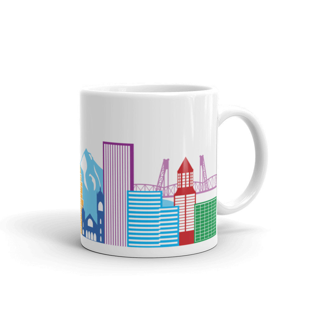 Colorful Skyline Mug