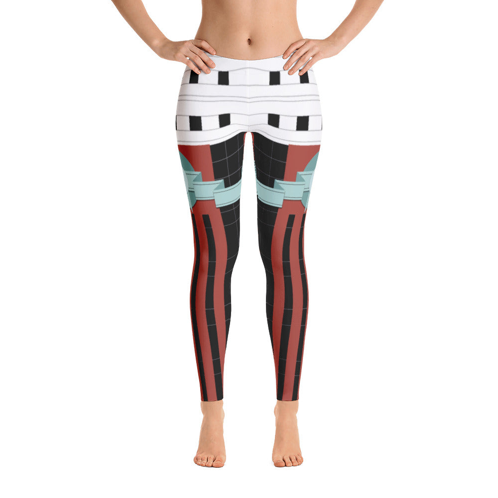 The Portland Building Leggings