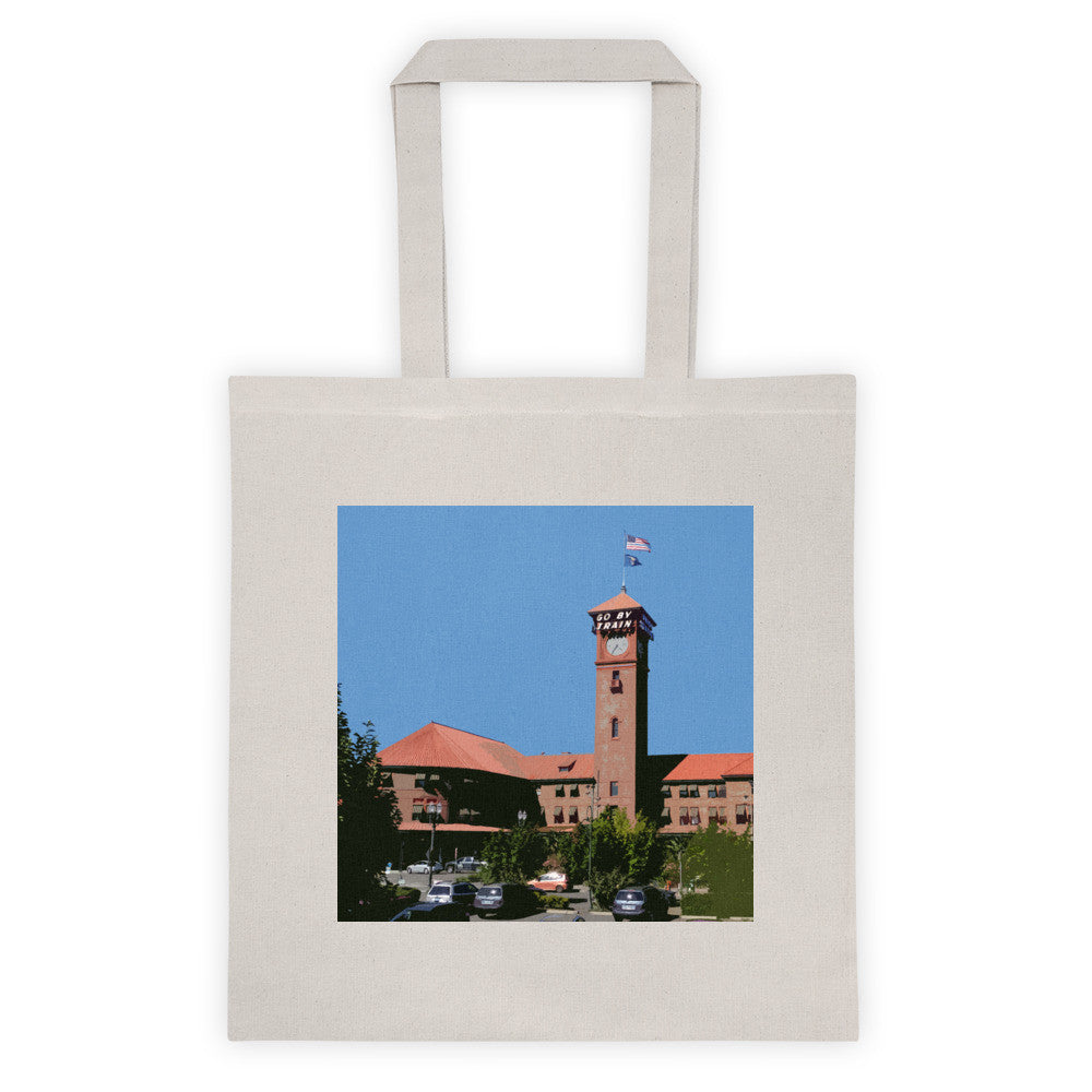 Union Station Landmarks Tote Bag - Small
