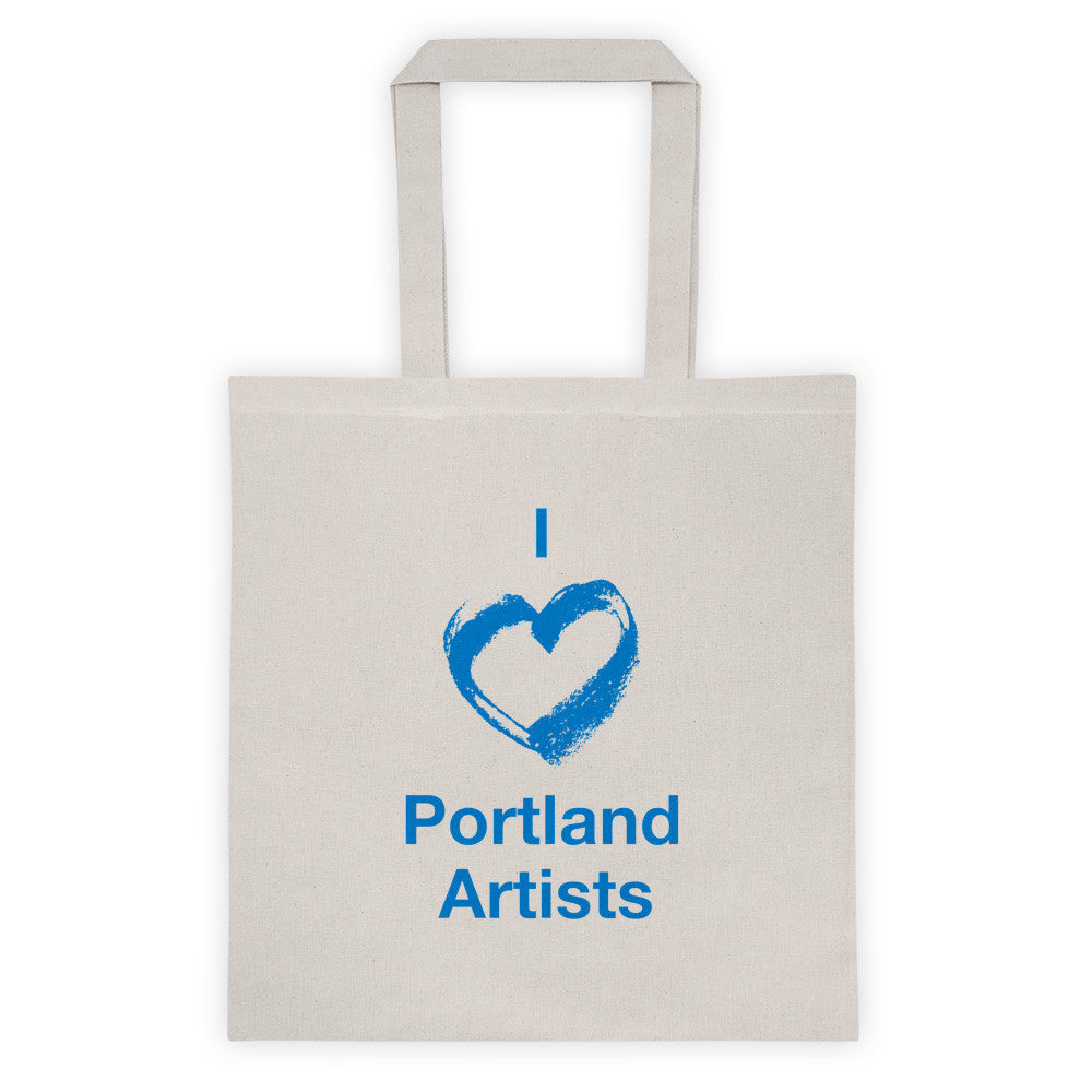 I ♡ Portland Artists Tote Bag - Small