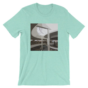 Mount Angel Abbey Library Landmarks T-Shirt