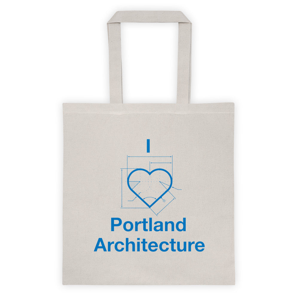 I ♡ Portland Architecture Tote Bag - Small