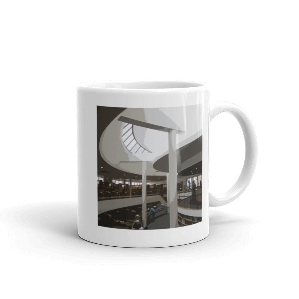 Mount Angel Abbey Library Landmarks Mug