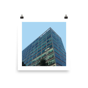 Commonwealth Building Landmarks Print