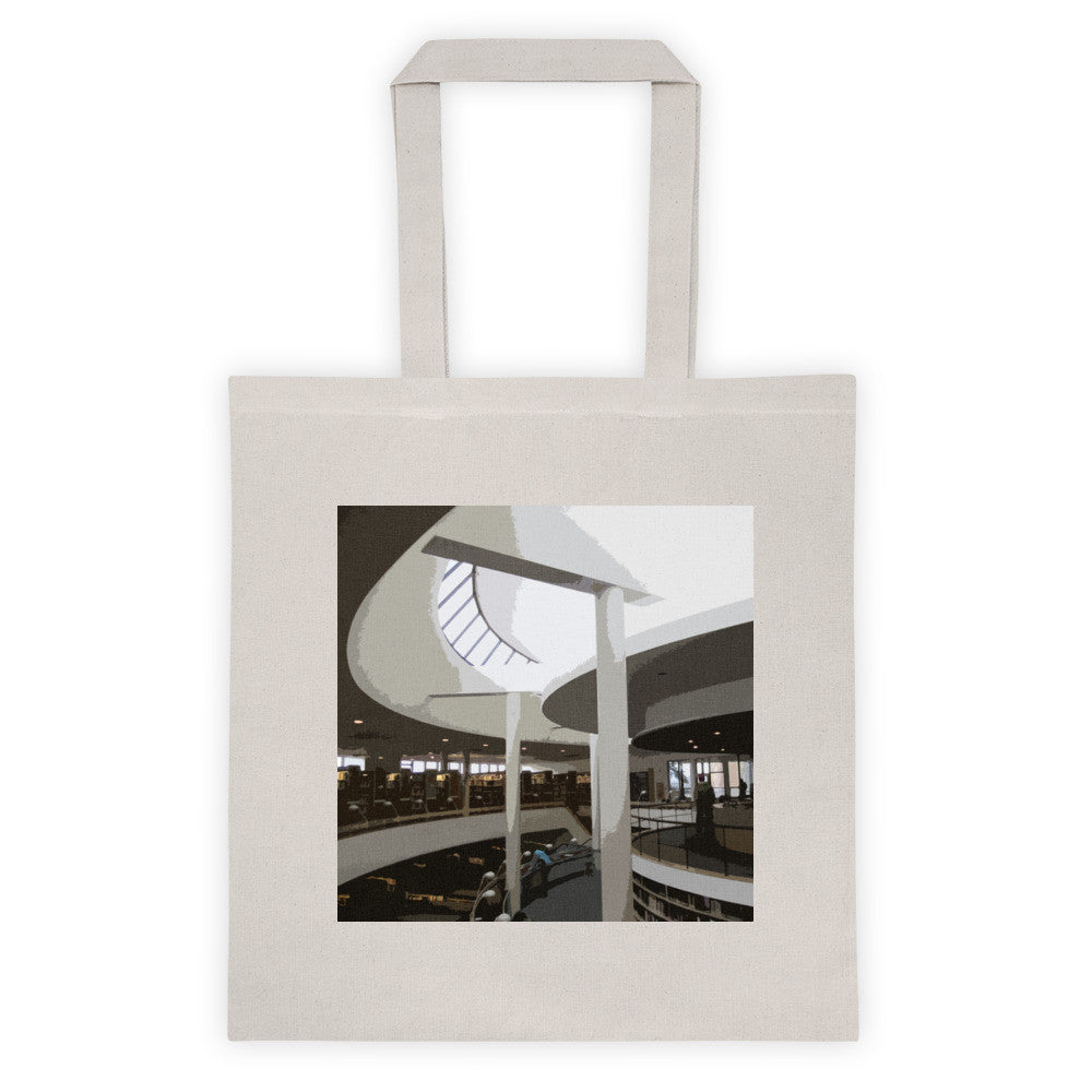 Mount Angel Abbey Library Landmarks Tote Bag - Small
