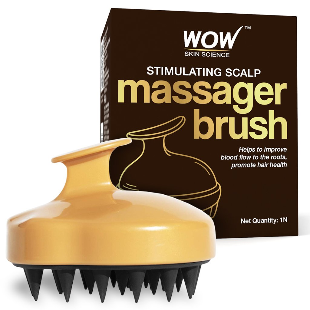 WOW Skin Science Stimulating Scalp Massager Brush