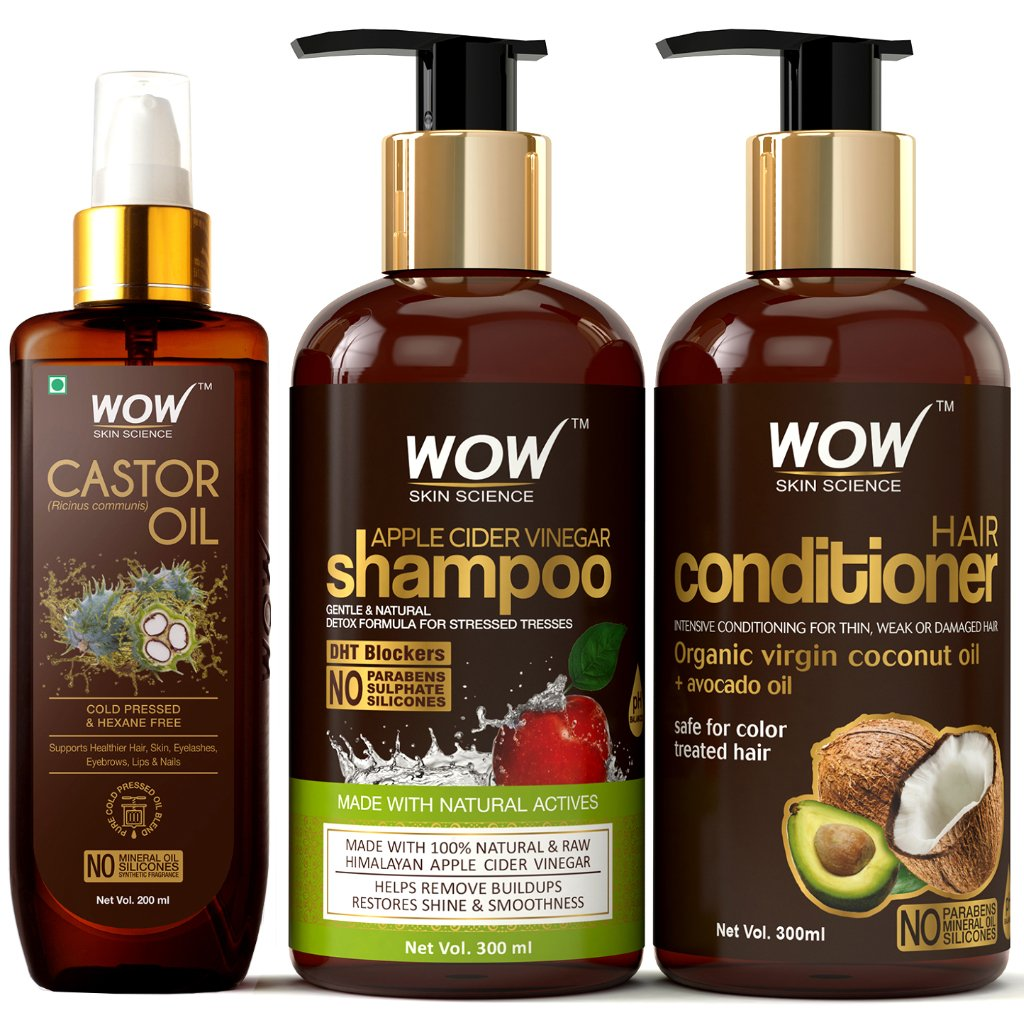 WOW Skin Science Complete Hair Strengthening Kit - BuyWow