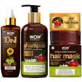 WOW Skin Science Clear Scalp & Hair Kit - Anti-Dandruff - BuyWow