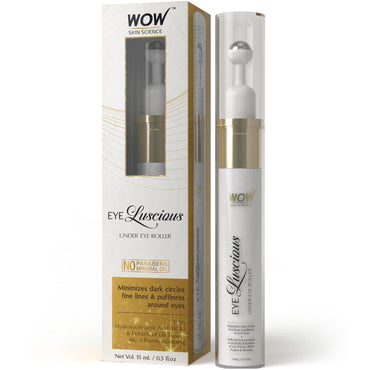 WOW Skin Science Eye Luscious Under Eye Gel & Roller