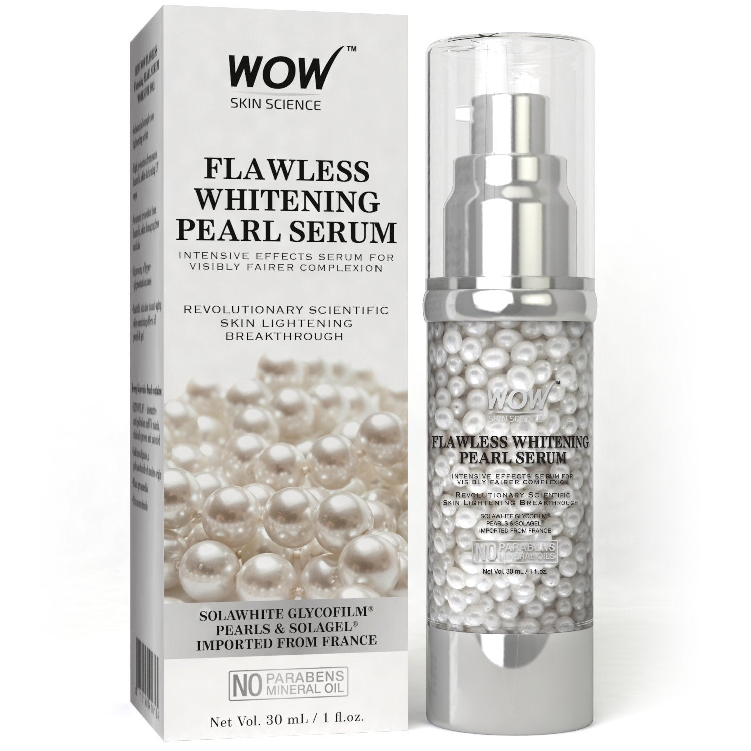 WOW Skin Science Flawless Whitening Pearl Serum
