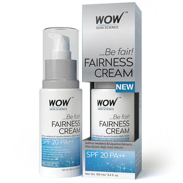WOW Fairness Cream - 100ml Value Bottle