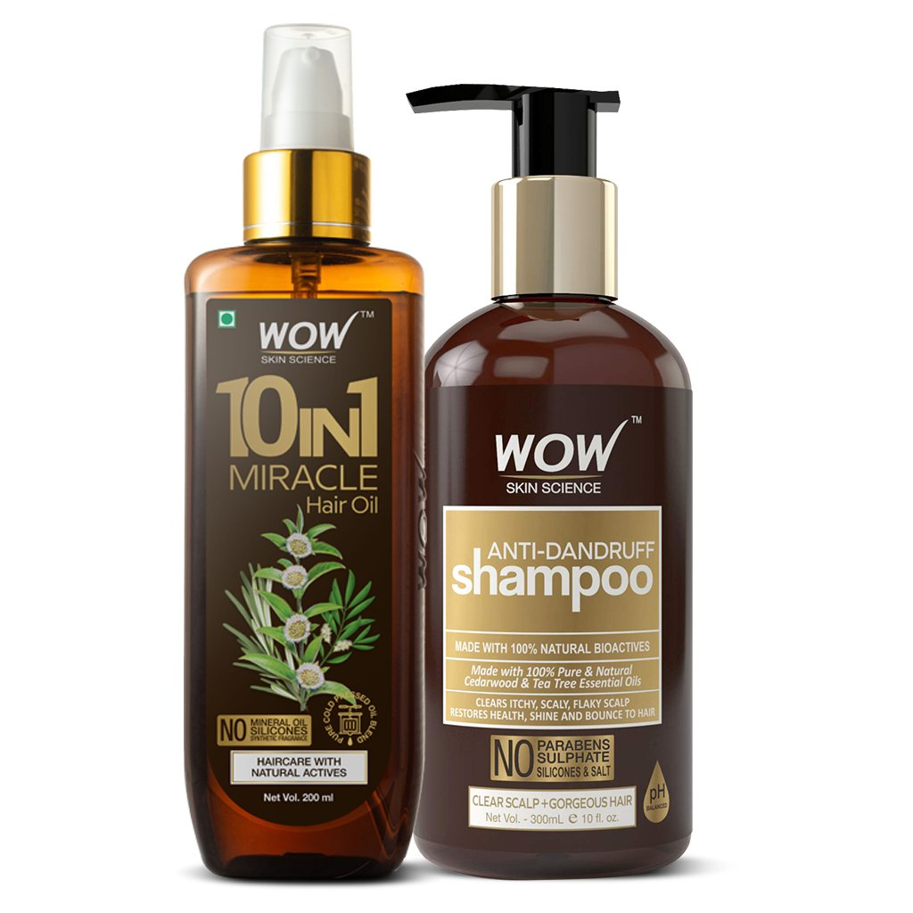 WOW Skin Science Anti-dandruff Regime - BuyWow