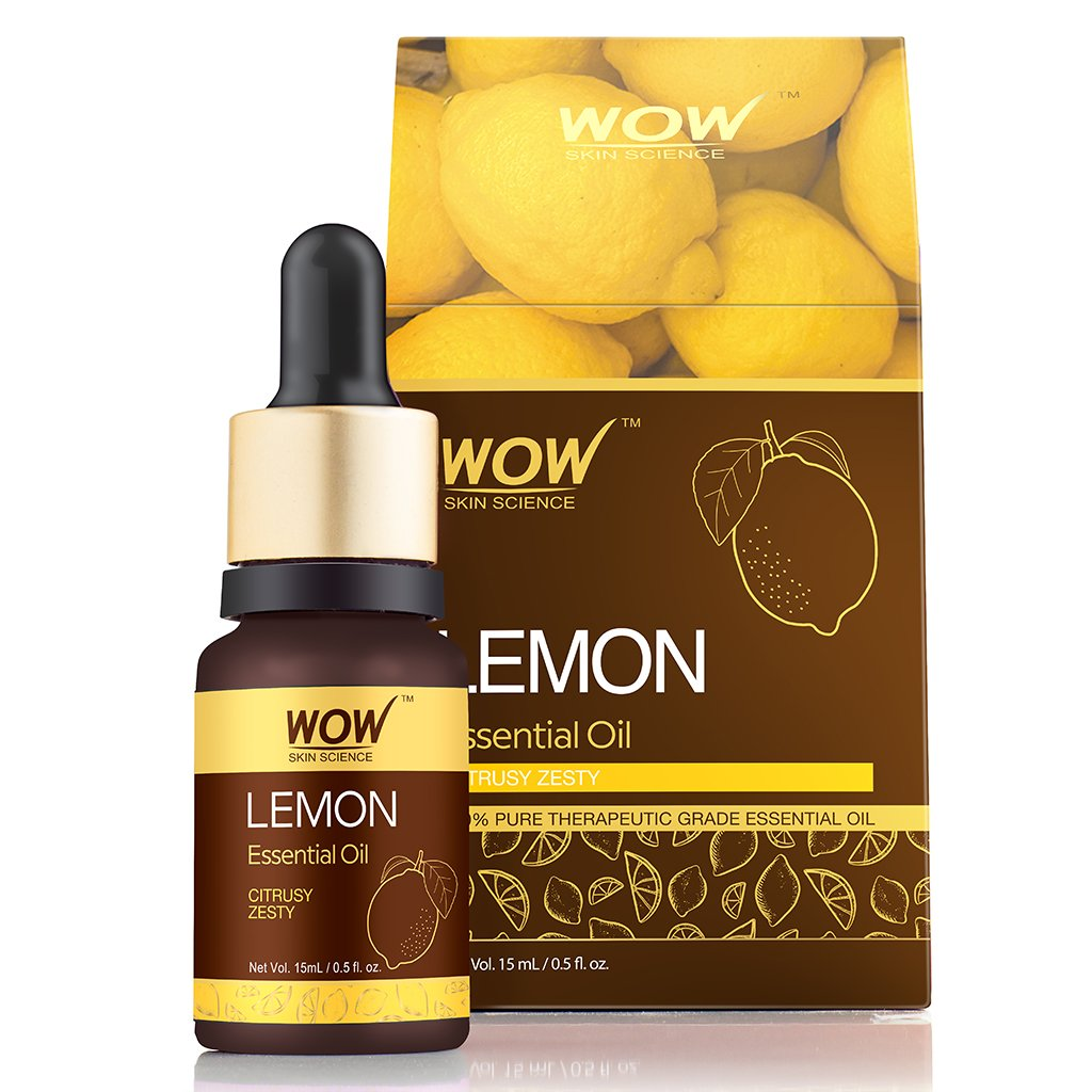 WOW Skin Science Lemon Essential Oil - BuyWow