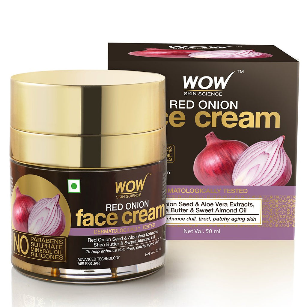 WOW Skin Science Red Onion Face Cream - 50 mL - BuyWow