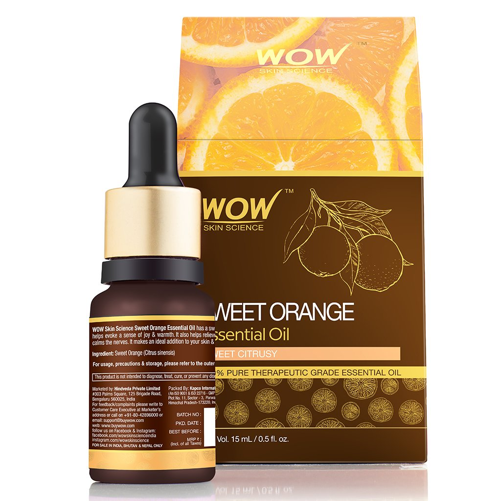 WOW Skin Science Sweet Orange Essential Oil - BuyWow